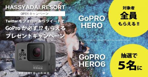 GoProが必ず!?もらえるキャンペーン