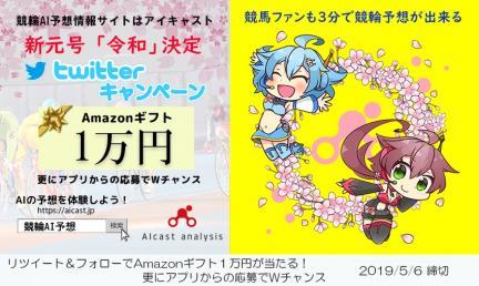 新元号「令和」決定!Amazonギフト1万円分が当たる!