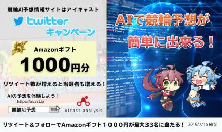 Amazonギフト1000円分が当たる!リツイート数達成で当選者数もグレードアップ!
