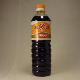 霧島山系の美味しい地下水を使った濃口醤油です
