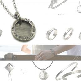 人気ブランドLOVEDEPOTの文字刻印できるネックレスを1名様に製作してプレゼント!