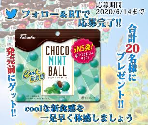 チョコミントボール先取りキャンペーン