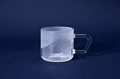 【Warakuweb×椎名切子】「HOKUSAIコーヒーガラスマグ」を1名様にプレゼント!